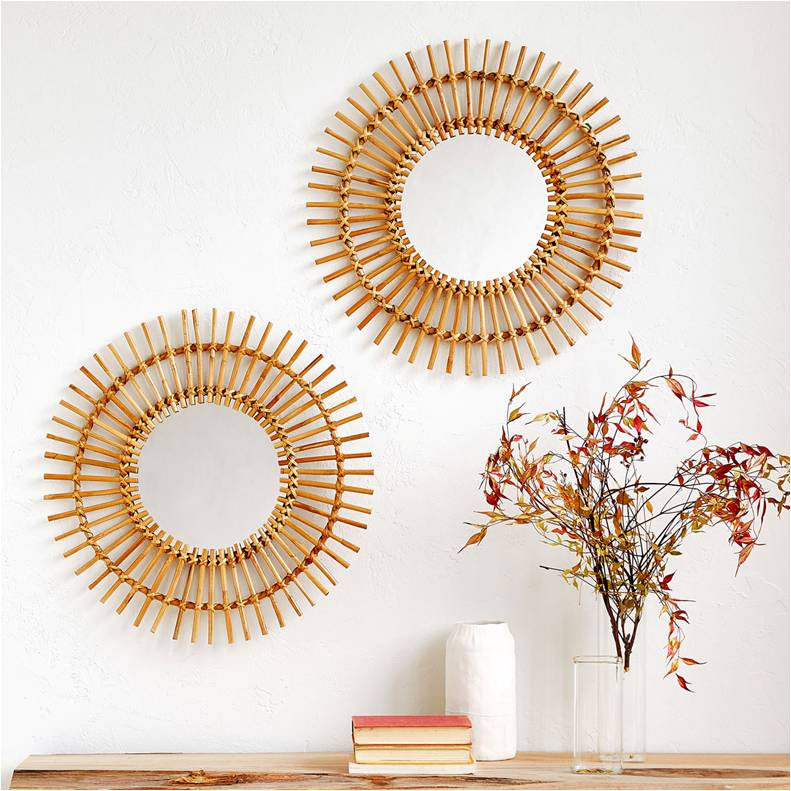 Espejo-de-bambú
