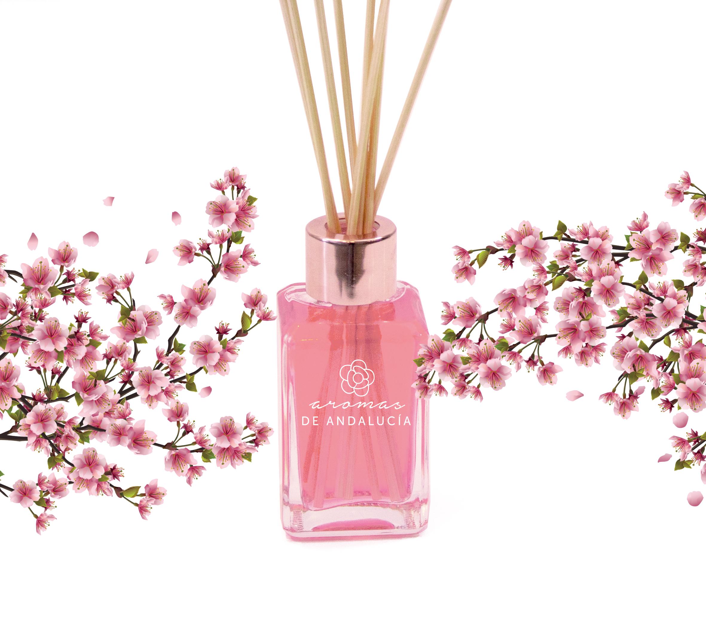 difusor varillas aroma sakura