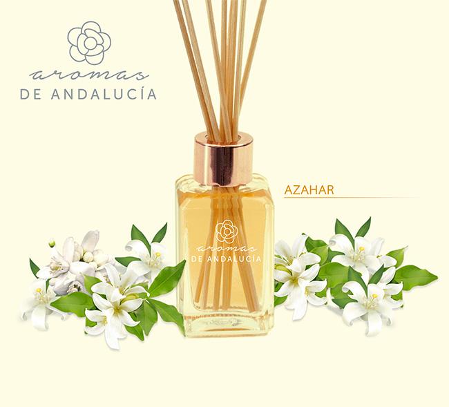 difusor varillas aroma azahar